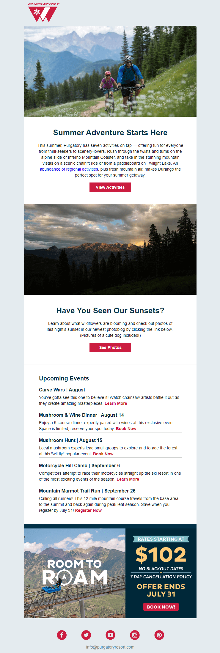 purgatory email template screenshot