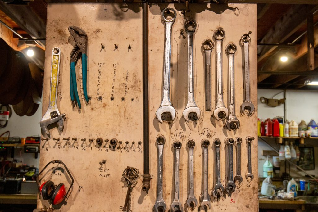 photo of wrenches