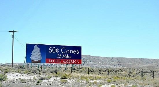 little america billboard